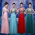 Increíble 2016 Africano de Moda Largo de Baile Vestidos Vestidos de Noche Apliques Con Cuentas vestido de Noche Formal Mujeres Prom Vestidos