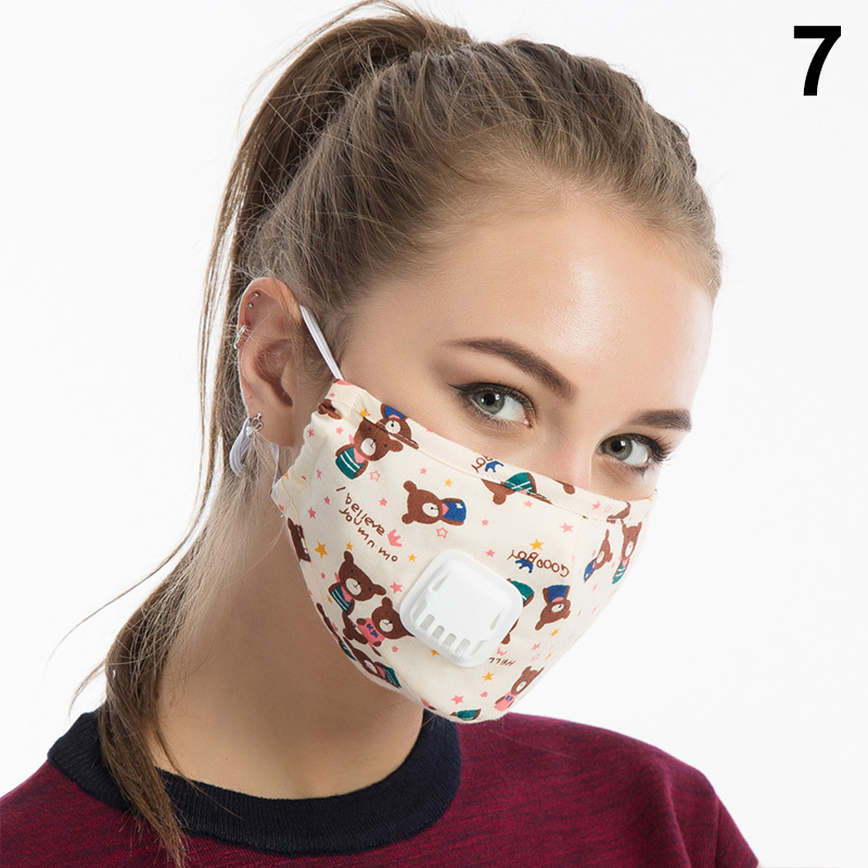 Newly 1 Pcs Mouth Face Mask Cotton Dustproof Breathable PM2.5 For Outdoor Cycling Winter M99