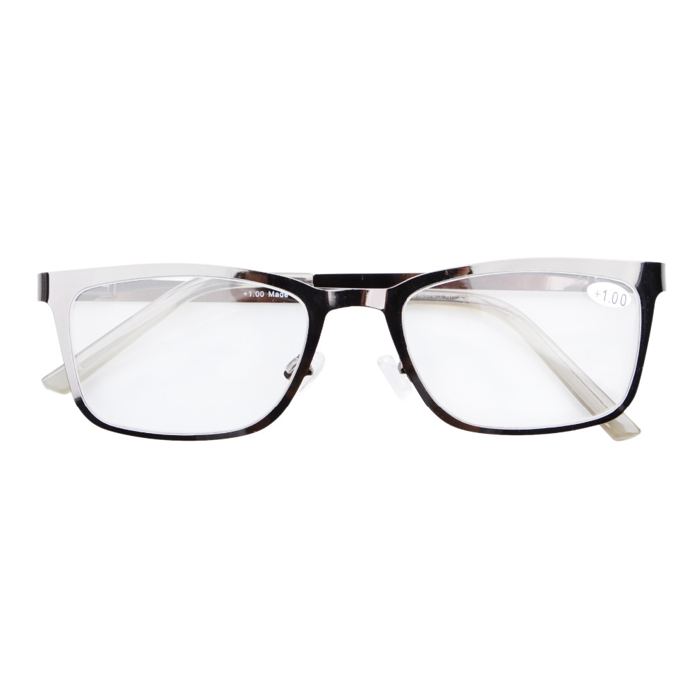 ff228c3311a3 R15013 Eyekepper Stainless Steel Frame Spring Hinges Reading Glasses Readers  +0.5 0.75 1.0 1.25 1.5 1.75 2 2.25 2.5 2.75 3 3.5 4-in Reading Glasses from  ...