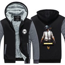 Playerunknown's Battlegrounds H1Z1 Unisex Thickening Hoodie Sweater Shirt Winter Sport Jacket