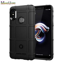 купить MAKEULIKE Thicken TPU Case For Xiaomi Redmi  5 Plus 6 Pro 6A Cover Soft Armor Phone Bag Case For Xiaomi Redmi Note 5 6 Pro Cover дешево