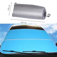 UV Protect Car Window Film Hot   Auto   Visor Windshield Windscreen Sun Block Cover Folding Front Rear Car Window Sun Shade