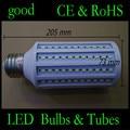 30pcs High Power 50W LED Lamp 5730 SMD E40 165 LEDs Corn Bulb Pendant Lighting 110V/220V Chandelier Ceiling Light DHL delivery