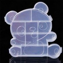 Panda box Mini pot sealed Jar candy boxes jewelry Coin earrings storage earrings headphone gift box Cans