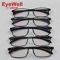 2017 Hot new arrival brand titanium optical frame eyeglasses business men spectacle frame for myopia presbyopia full frame 9064