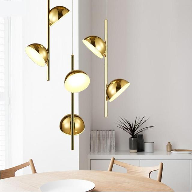 Bar Led pods Pendant Lamp luminaria for Art gallery Salon Cord Pendant light Contemporary Iron Dining Room home led lighting
