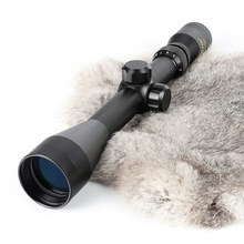 SUTTER 3 12X40 Mil Dot Reticle Hunting Rifle Scope Tactical Crossbow Air Gun Optical Sight Gold