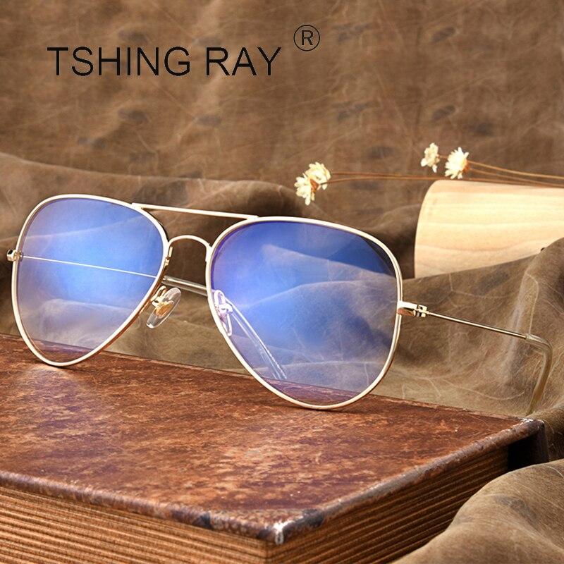 TSHING RAY Mode Pilot Optische Frauen Augenglasrahmen Männer Klare ...