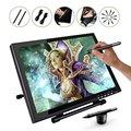 UG1910B 19 Pulgadas Pantalla TFT LCD Panel Monitor Pen Dibujo Dibujo Tableta Gráfica con 2 Original Recargable Pluma