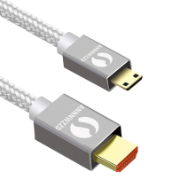 HDMI TO MINI CABLE,1M,2M,3M,5M High speed Cable 1.4 Version 1080p 3D for TABLETS DVD Camcorder MP4 Mini cable