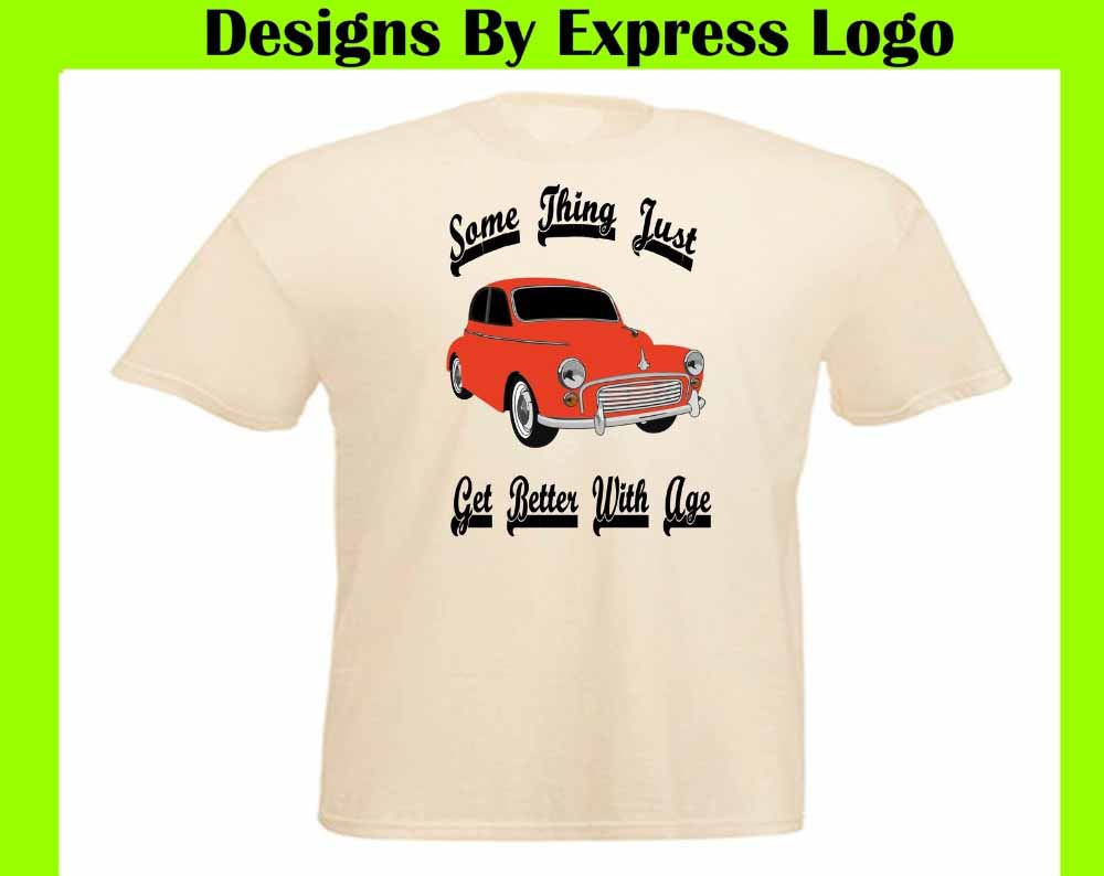 Oldtimer Car Morris Minor T-Shirt Youngtimer
