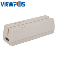 MCR200 Magnetic EMV Smart IC Stripe Chip Card Reader/Writer With SDK For Lo & Hi Co Track 1, 2 & 3