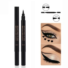 1PC Pentagram Stamp Eyeliner Long-Lasting Waterproof Easy To Wear Eyeliner Pen Long Lasting cosmetic цена 2017