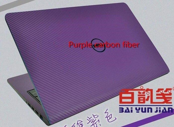 Специальные кожаные виниловые наклейки из углеродного волокна для ASUS G53 G53SW G53SX 15,6 дюйма - Цвет: Purple Carbon fiber