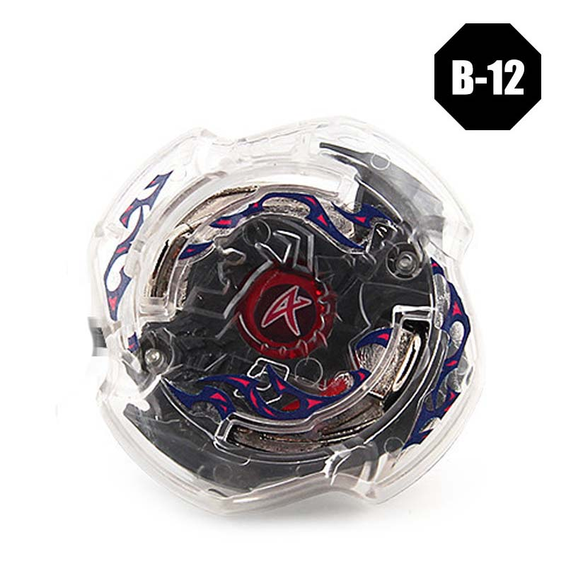 1pc Beyblade 3052 B12 With Launcher Metal Fusion 4D Gyro Spinning Top With Original Box Gift