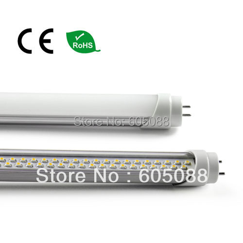 20pcs/lot wholesale,1.2m 20w T8 led tube light,ac100-240v,1950lm in white color, transparent/frosted PC cover,DHL free shipping!