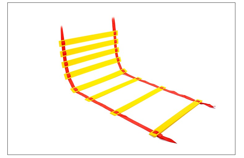 Football Training Ladder 6 Rung 3M Agility Durable Nylon Straps Gym Sports Accessories For Soccer Fitness Feet Speed Training