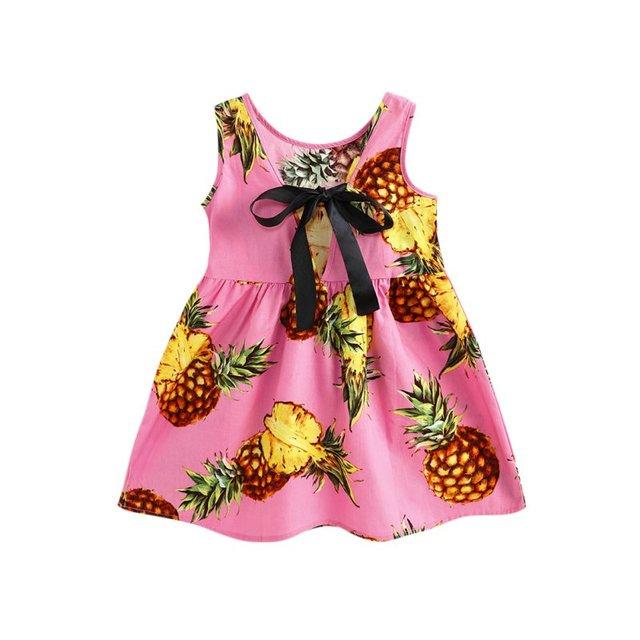 Летнее милое платье для девочек; милое детское мини-платье с принтом; Vestidos; одежда с рукавами для подростков