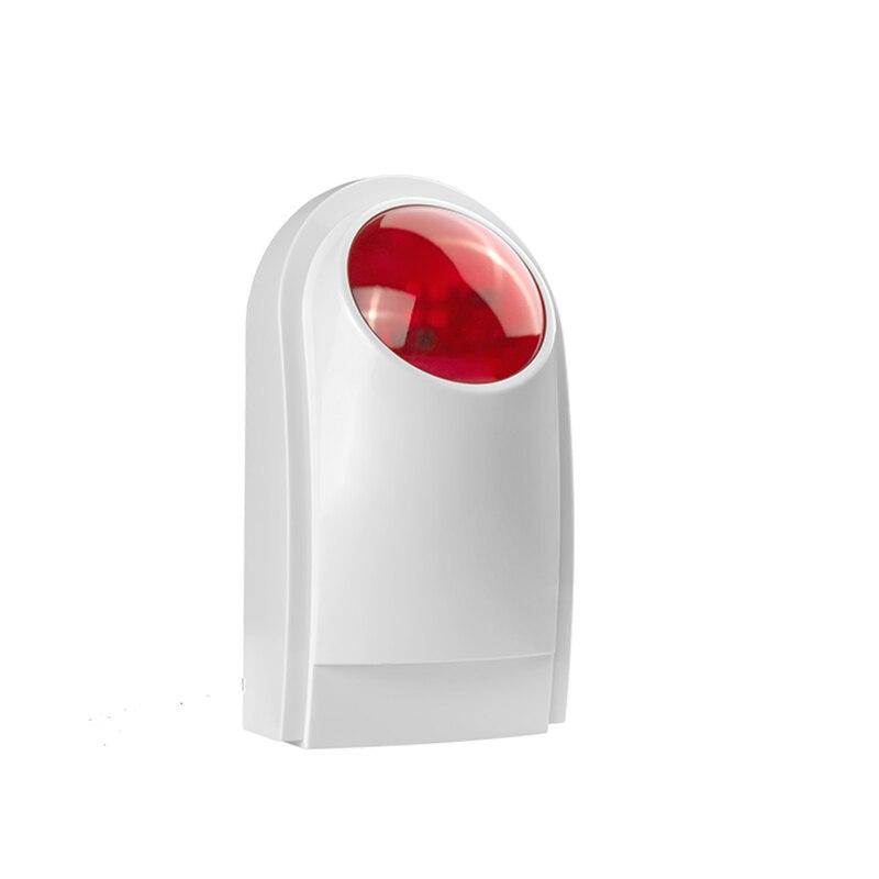 ФОТО New Wireless  External Flash LED strobe Light siren sensor Alarm Work With GSM PSTN SMS Home Security Voice Burglar Smart Alarm