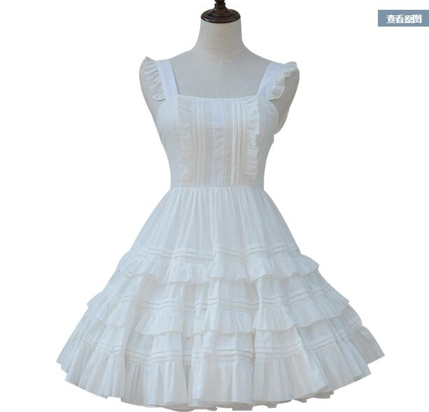 The new spring and summer sweet lolita blouse cultivate one's morality princess dress dress