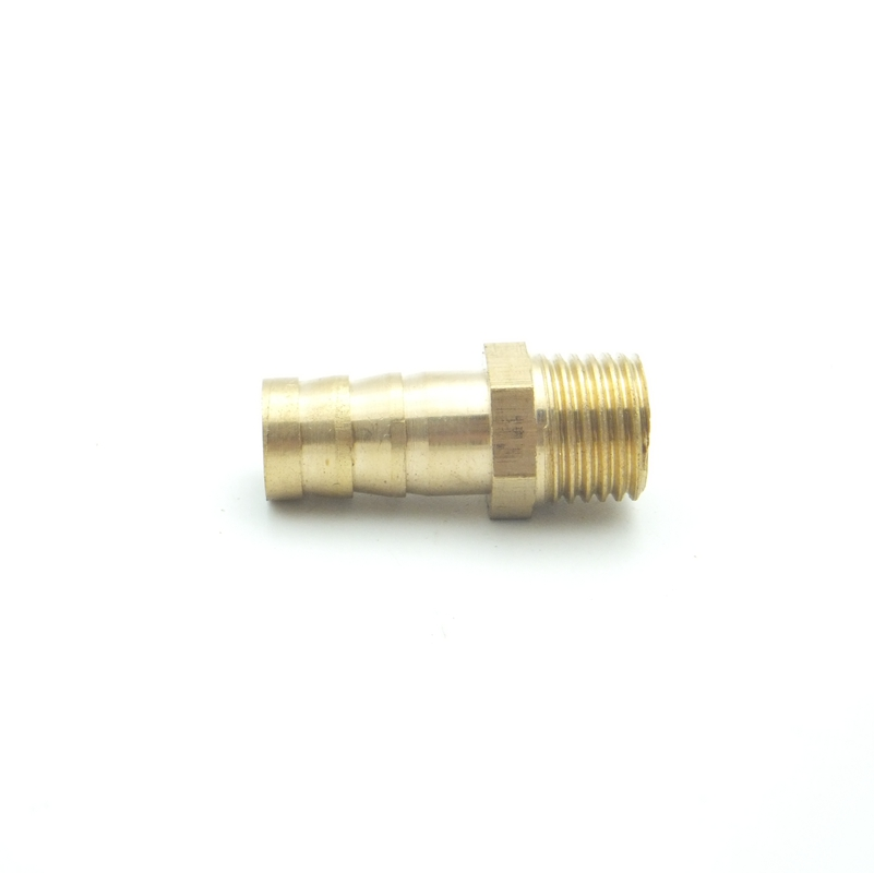 US $0 32 |10mm OD Hose Barb x M12x1 5 Metric Male Thread Brass Barbed Pipe  Fitting Coupler Connector Adapter Splicer For Fuel Gas Water-in Pipe