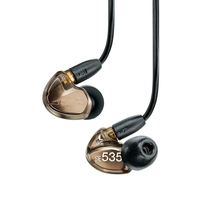 Ship in 24 Hours Brand SE535 Detachable earphone Hi fi stereo Headset SE 535 In ear Earphones Separate Cable with Box VS SE215
