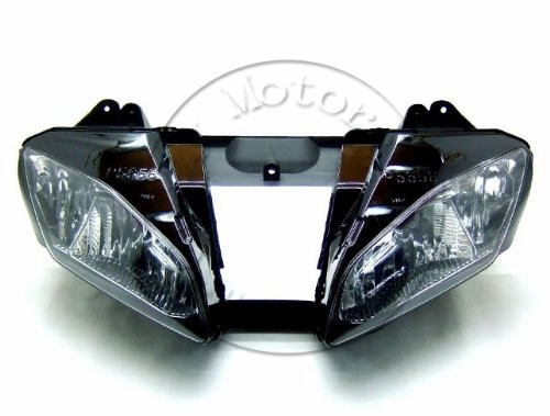 Motorcycle Front Headlight For YAMAHA YZFR6 2006 2007 YZF 600 R6 Head Light Lamp Assembly Headlamp Lighting Moto Lamp Parts motorcycle accessories upper front headlight headlamp bracket fairing stay for yamaha yzf600 yzf 600 r6 2006 2007