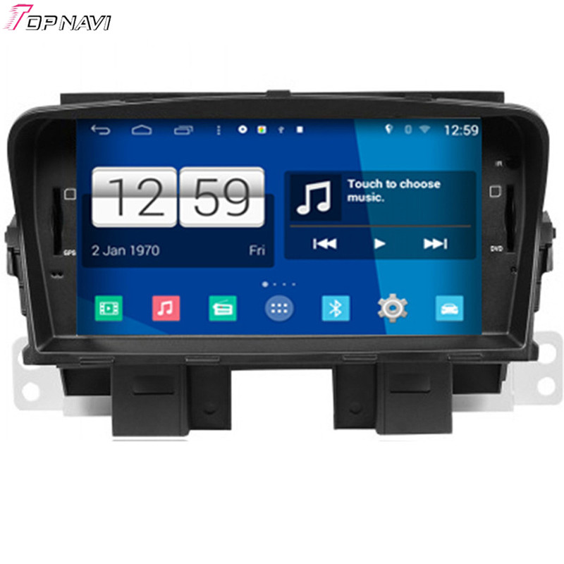 Top Free Shipping 7'' Quad Core S160 Android 4.4 Car GPS For Chevrolet Cruze With Stereo Radio 16GB Flash Mirror Link BT Wifi