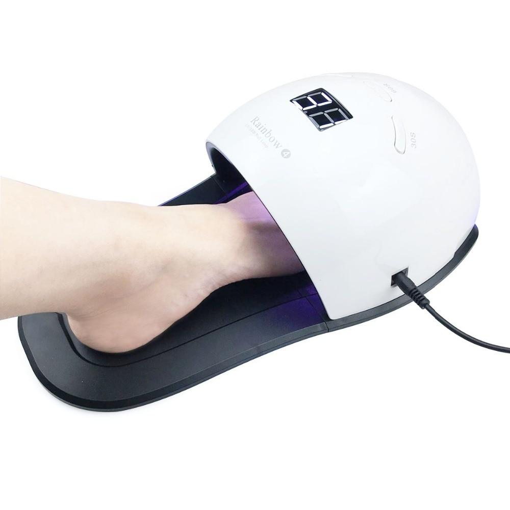 sensor automático profissional pedicure manicure secador luz máquina arte ferramentas