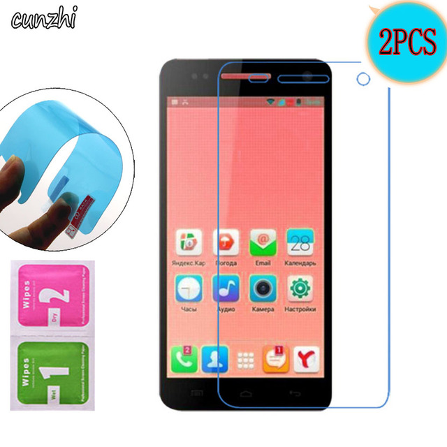 2PCS For Explay Fresh Ultra Clear Soft Nano Explosion proof Screen Protector For Explay Fresh Protective Mobile Phone Film