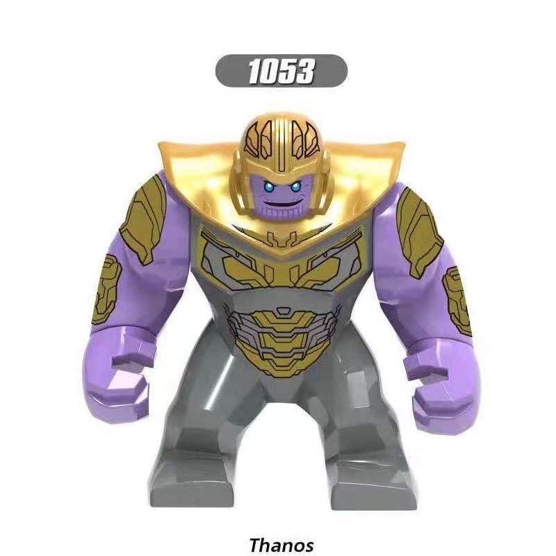 50pcs Super Hero New Thanos Marvel Avengers 4 Endgame Thor Iron Man Captain America Hulk building
