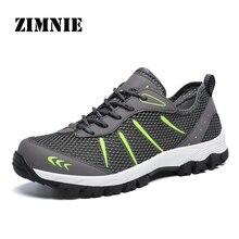 ZIMNIE mężczyźni letnie oddychające przypadkowi buty z siatką mężczyźni wygodne adidasy obuwie męskie buty do chodzenia duże duże rozmiary 39 ~ 48