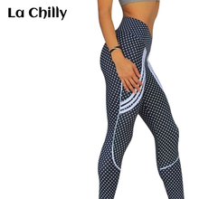 02599feb6f36be Calzas Deportivas Mujer Fitness 2018 Summer New Fashion High Waist Leggings  for Women Push Up Stripe