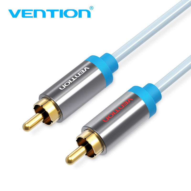 Vention Jack 2 RCA Audio Cable to 2 RCA Aux Cable for Edifer Home Theater DVD VCD Amplifier Headphones vention 3 5mm rca audio cable jack to 2 rca aux cable for edifer home theater dvd vcd iphone headphones hifi rca cable1m 2m 3m