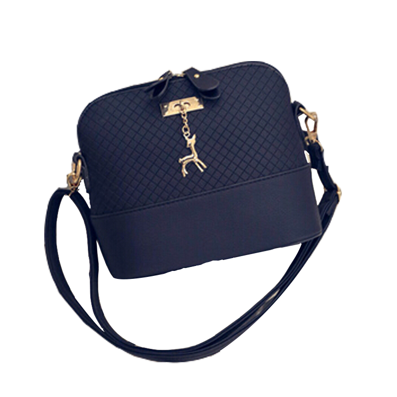 New Arrival 2017 Women Messenger Bags Mini Fashion Bag with Deer Toy Shell Shape Bag Hot Sale Lady Shoulder Bags F746