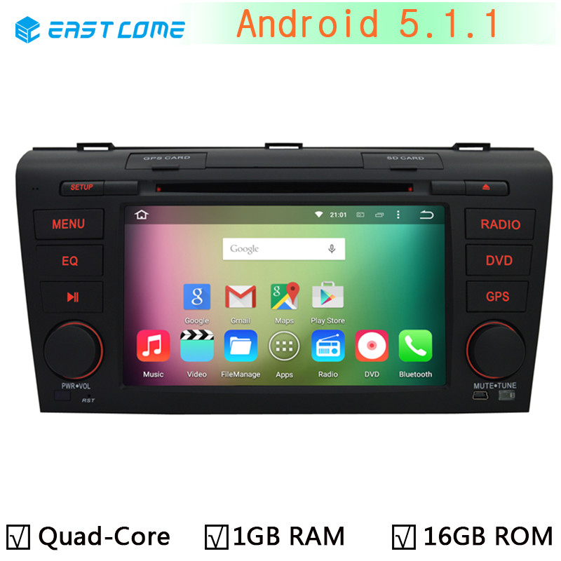 2008 Mazda 3 For Sale 1 6m Obo: 1024X600 Android 5.1.1 Quad Core Car DVD Player For Mazda 3 Mazda3 2004 2005 2006 2007 2008 2009