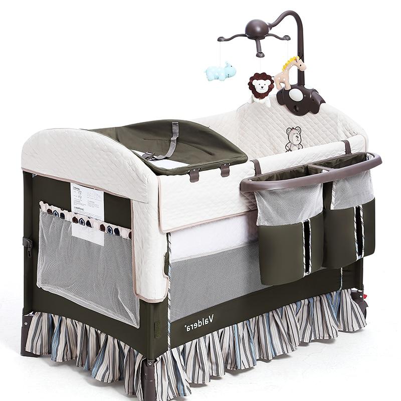 2017 Sale Real Baby Beds Valdera Folding Multi-functional Baby Bed Eu Newborn Travel Europe Sleeping Brand Send All Accessory cap eu to send carp