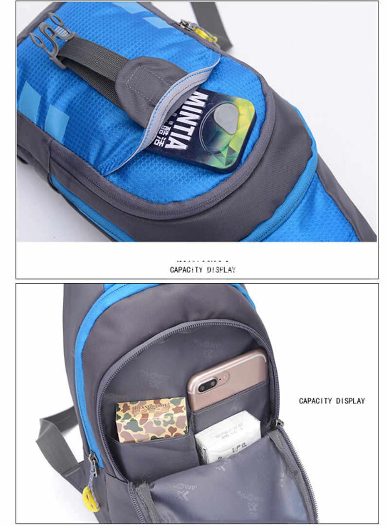 Noenname mulheres dos homens à prova dsmall água pequena caixa saco pacote de viagem esporte ombro estilingue mochila crossbody sacos presente