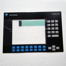 PanelView 1000 2711-K10C10 2711-K10C9L1 Membrane keypad film for HMI Panel repair~do it yourself,New & Have in stock