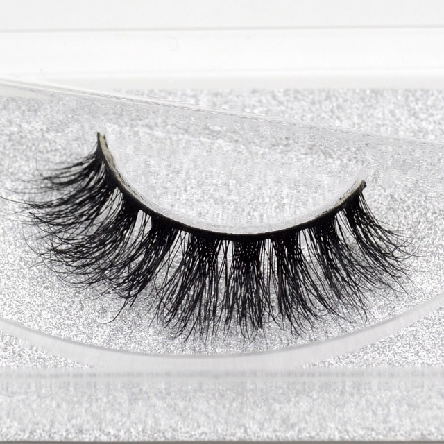 ec861ecbaf5 Visofree Mink False Eyelashes Classic Collection Upper Lashes Natural &  Lightweight Mink Lashes 1 pair Glitter Packaging 3D08