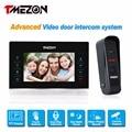 Tmezon 7 inch TFT Color Monitor 1200TVL Camera Video Door Phone Intercom Security Speaker System Waterproof IR Night Vision 1v1