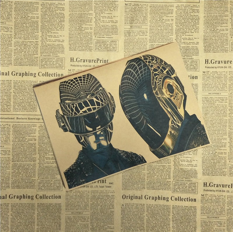 Fantastic Daft Punk Wall Art Images - Wall Art Design ...