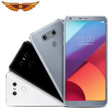 Original Unlocked LG G6 Quad Core 5.7 Inches 4GB RAM 64GB ROM Dual SIM Dual Rear Camera 13.0MP LTE 4G Rufurbished Mobile Phone