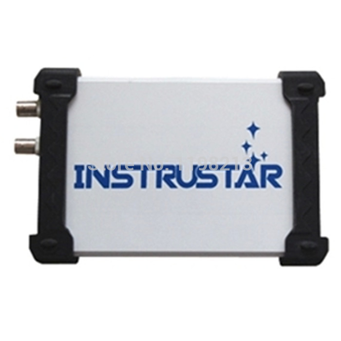 INSTRUSTAR ISDS205A 2CH 20MHz 48MSa/s FFT Logic Analyzer Data Logger PC Based USB Oscilloscope диски dvd r verbatim 8 5gb 8x double layer cakebox 50шт 43758