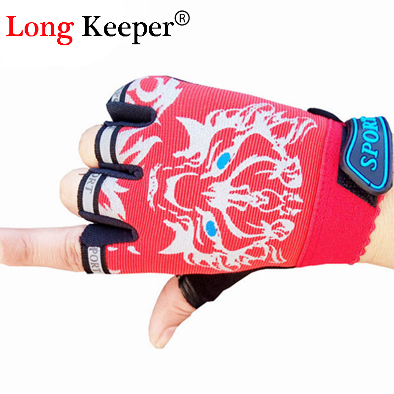 Bescheiden Long Keeper Nette Sport Handschuhe Für Kinder 4-12 Jahre Jungen Fingerlose Handschuhe Kinder Handschuhe Halbfinger Cartoon Handschuhe Rtst01