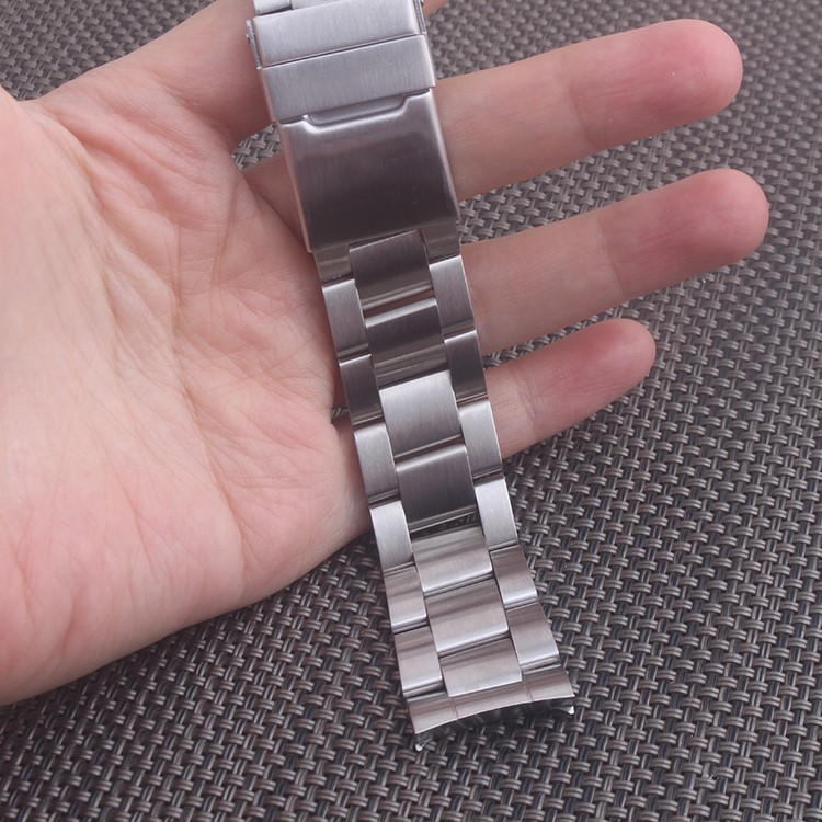 22mm High Quality Brushed Stainless Steel Bracelet Watch Band Strap For Breitling Super Avenger