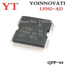 50pcs/lot L9302 AD L9302 9302 IC QFP64 best quality.