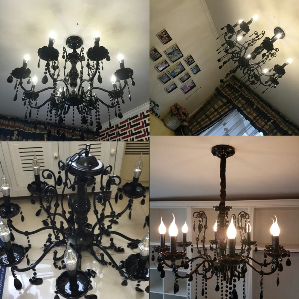 Modern black chandelier bedroom classical crystal chandeliers modern black chandelier bedroom classical crystal chandeliers vintage china lighting wrought iron chandelier living room lamps in chandeliers from lights arubaitofo Choice Image
