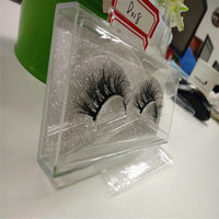 New 3D Mink False Eyelashes Natural Long Thick Messy Soft Fake Lashes Beauty Makeup Stage Stereo