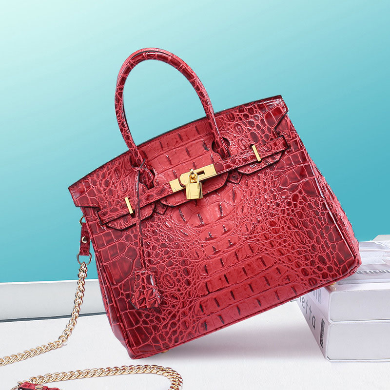 Women Handbags Messenger Shoulder Crossbody Bag Ladies Genuine Leather Bags Handbags Women Famous Brand Luxury Tote Alligator недорго, оригинальная цена